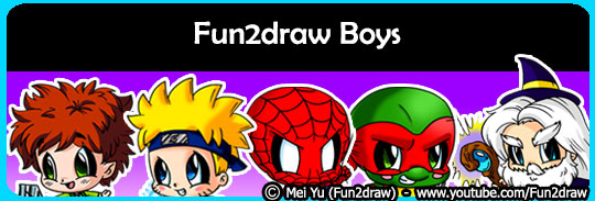 Draw cool and cute boys like superheroes, teens, and more!