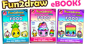Check out these all-new Fun2draw ebooks to help take your drawing and creativity even further!
