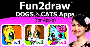 Check out this introduction to my Fun2draw Dogs and Cats apps!