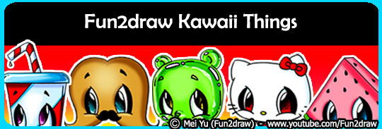 Learn to draw kawaii things, like food, make up, and other things.