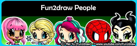Fun2draw videos for Fun to draw people
