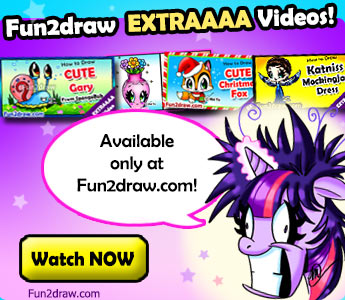 Fun2draw Extraaaa Videos, available only at Fun2draw.com!